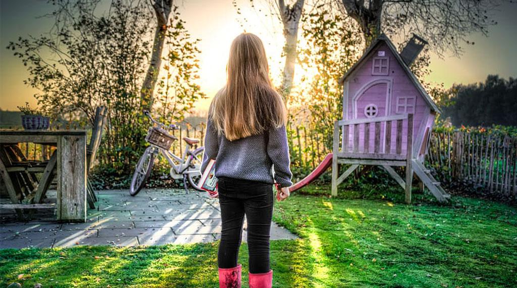 Garden Hangouts and Hideaways for Kids